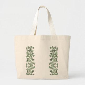 Vines  CricketDiane Art & Design Jumbo Tote Bag