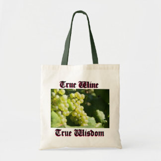 Vines for wine budget tote bag