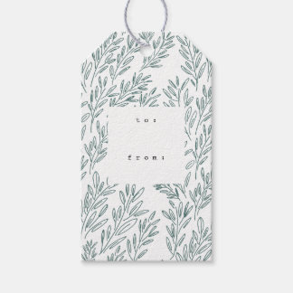 Vines Gift Tags