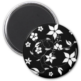 VINES.png 2 Inch Round Magnet