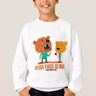 Vinesauce - Your Face is Bear Sweatshirt