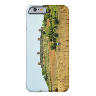 Vineyard in front of a fort, Monteriggioni, Barely There iPhone 6 Case