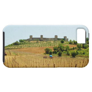 Vineyard in front of a fort, Monteriggioni, iPhone 5 Cover