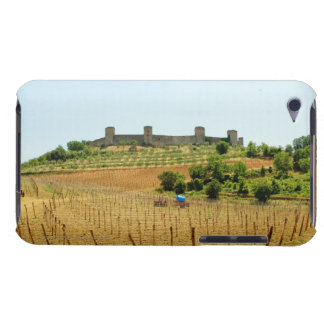 Vineyard in front of a fort, Monteriggioni, iPod Touch Case
