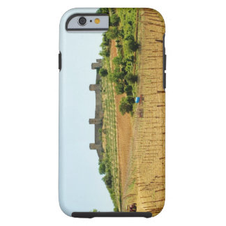 Vineyard in front of a fort, Monteriggioni, Tough iPhone 6 Case