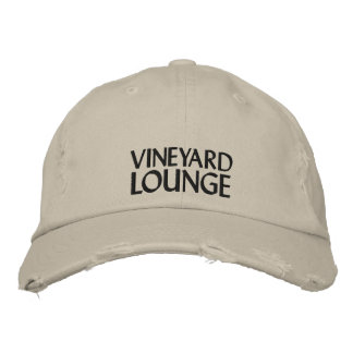 VINEYARD LOUNGE EMBROIDERED HAT