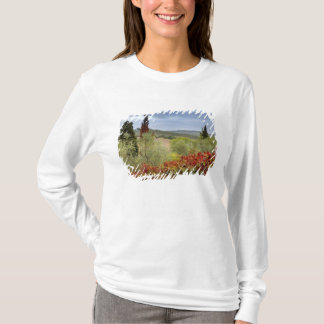 Vineyard near Montalcino, Tuscany, Italy T-Shirt