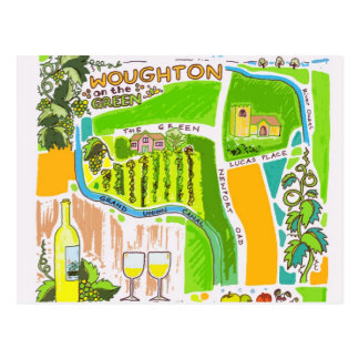 Vineyard of Milton Keynes postcard