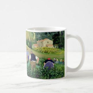 Vineyard Olives and Sunflowers Coffee Mug