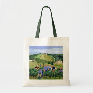 Vineyard Olives and Sunflowers Tote Bag