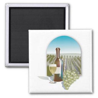 Vineyard Scene Magnet