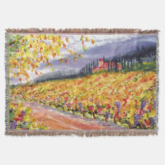 Vineyard Throw Blanket