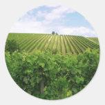 Vineyard - Vignoble Stickers