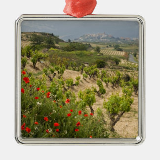Vineyards near Laguardia, capital of La Rioja Christmas Ornament