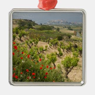 Vineyards near Laguardia, capital of La Rioja Christmas Ornament