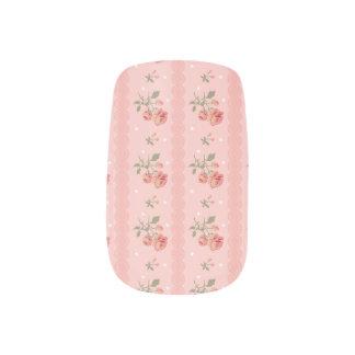 Vingtage Rose Minx Nail Art