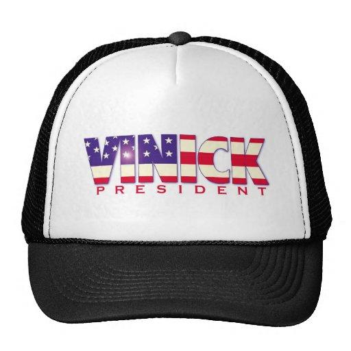 Vinick for President hat