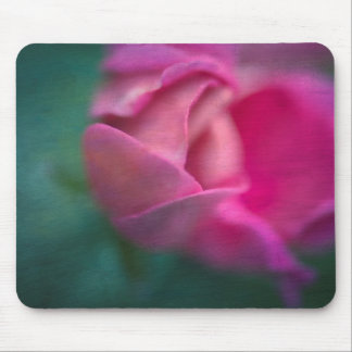 Vining Geranium Bud, Digitally Altered Mouse Pad