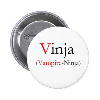 Vinja - Vampire Ninja 6 Cm Round Badge