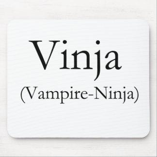 Vinja Vampire-Ninja Mouse Pad