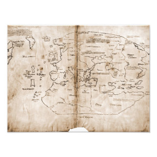 Vinland Map Photo Art