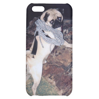 Vinny the Pug IPhone 4/4s Hard Cover Case For iPhone 5C