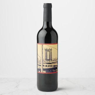 Vino anyone NY Edition Wine Label