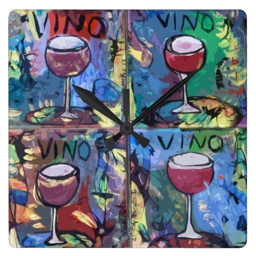 Vino Quartet Clocks