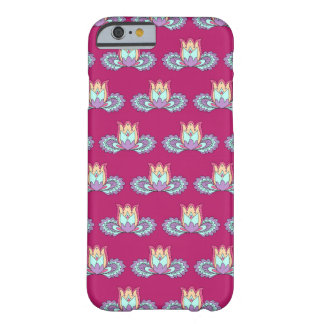 vinouse Lotus pattern Barely There iPhone 6 Case