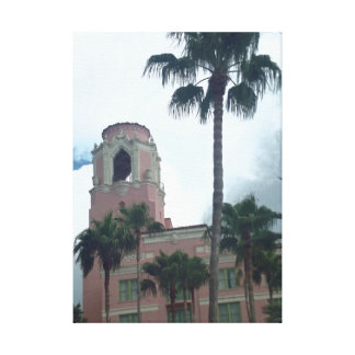 Vinoy tower downtown St Petersburg Stretched Canvas Prints