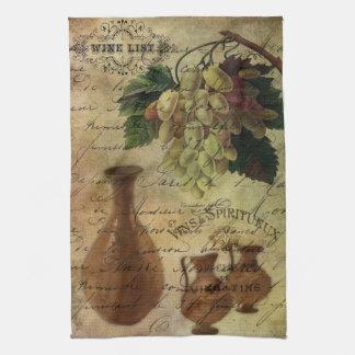 Vins Spiritueux, Nectar of the Gods Kitchen Towel