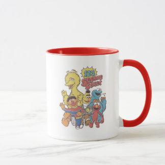 Vintage 123 Sesame Street Mug