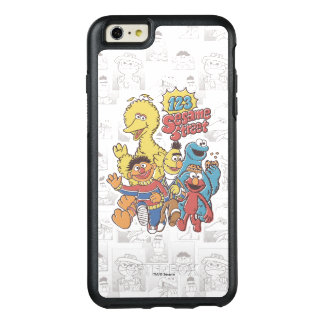 Vintage 123 Sesame Street OtterBox iPhone 6/6s Plus Case