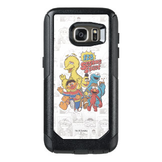Vintage 123 Sesame Street OtterBox Samsung Galaxy S7 Case