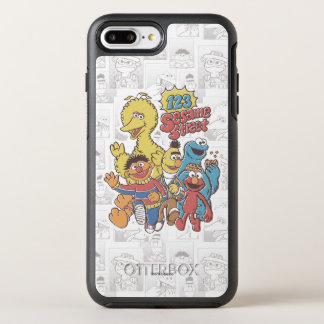 Vintage 123 Sesame Street OtterBox Symmetry iPhone 8 Plus/7 Plus Case