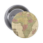 Vintage 1725 Africa Map Pin
