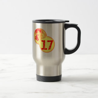 Vintage 17th Birthday Gifts Stainless Steel Travel Mug