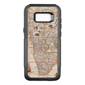 Vintage 17th Century Map of Africa OtterBox Commuter Samsung Galaxy S8+ Case