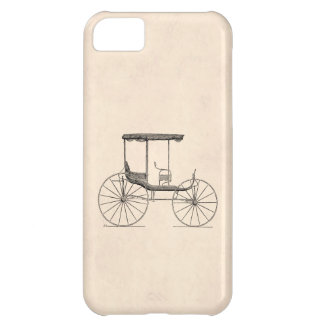 Vintage 1800s Carriage Horse-Drawn Antique Buggy iPhone 5C Case