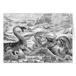 Vintage 1800s Dinosaur Illustration - Dinosaurs