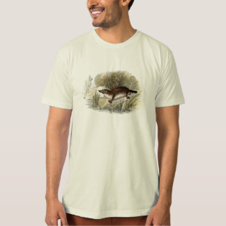 Vintage 1800s Duck Bill Platypus Illustration T-Shirt