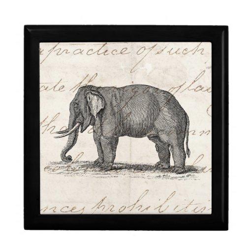Vintage 1800s Elephant Illustration - Elephants Large ... Vintage Elephant Illustration