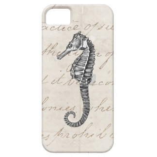 Vintage 1800s Hawaiian Sea Horse Illustration iPhone 5 Covers