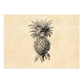 Vintage 1800s Pineapple Illustration Pineapples Business Cards