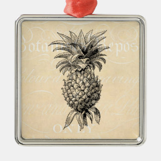 Vintage 1800s Pineapple Illustration Pineapples Christmas Ornament