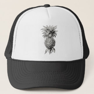 Vintage 1800s Pineapple Illustration Pineapples Trucker Hat