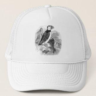 Vintage 1800s Puffin Bird - Puffins Birds Template Trucker Hat