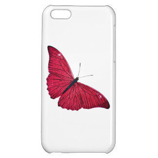 Vintage 1800s Red Butterfly Illustration Template iPhone 5C Cases