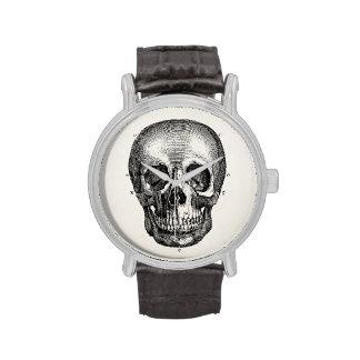 Vintage 1800s Skull Retro Skulls Skeleton Wrist Watch