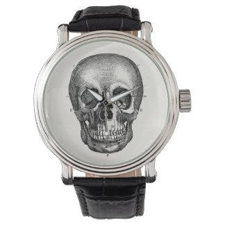 Vintage 1800s Skull Retro Skulls Skeleton Watch